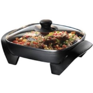 One Of The Really Nice Features This Oster Electric Skillet Is That Non Stick Cooking Surface Actually Has Some Raised Areas So Your Food Does